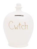Terramundi Money Pot 'Cwtch' Welsh White - W3