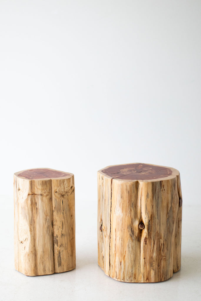 Picture of: Large Tree Stump Side Tables 1419 Natural Bertuhome Bertuhome