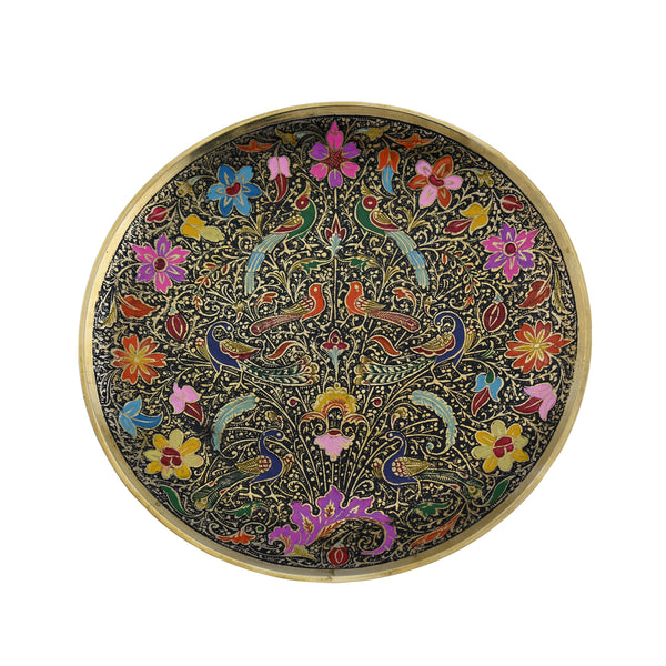 Trident EXIM Handmade Home Decor  Brass Plates. Painted & Engraved Decorations Of High Quality & Purity