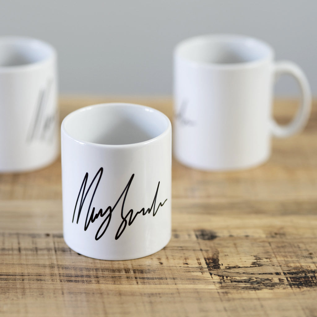 Mary Spender Signature Mug
