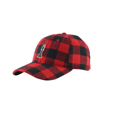 MALEK 1 - RED BUFFALO CHECKERED WOOL