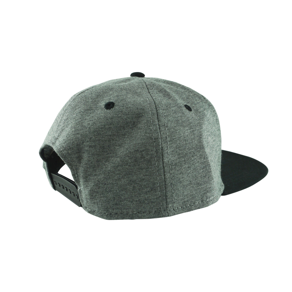 MALEK 2 - BLACK/STEEL HEATHER SNAPBACK