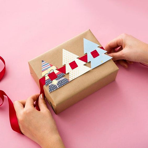 wrapping presents - LoveBy beauty store