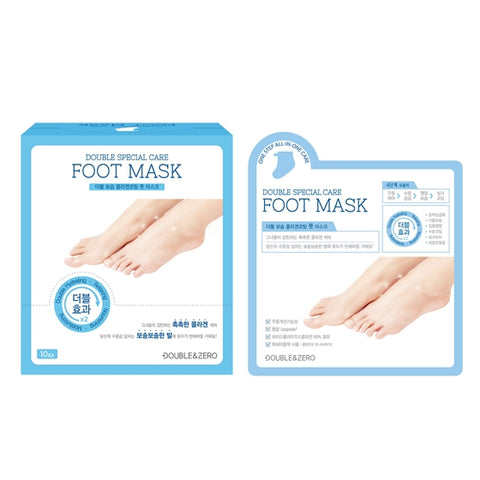 Double & Zero Special Care Foot Mask- 10 pack