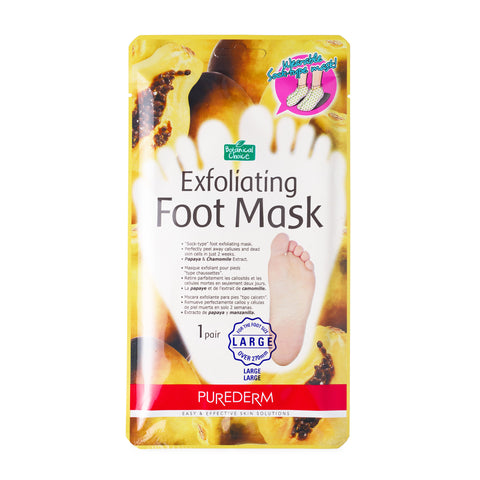 Purederm Exfoliating foot mask- Large