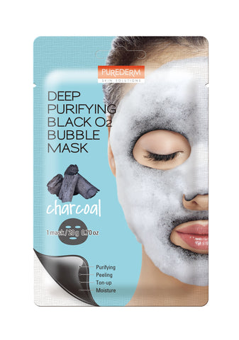 Deep Purifying Black 02 Bubble Mask (CHARCOAL)