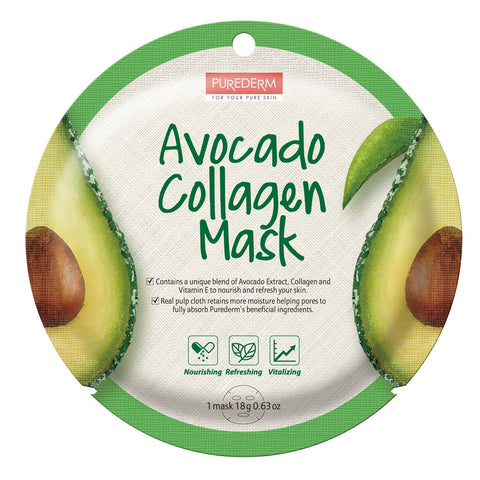 Purederm Collagen Mask- Avocado