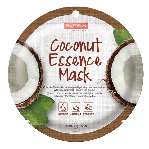 Purederm Essence Mask- Coconut
