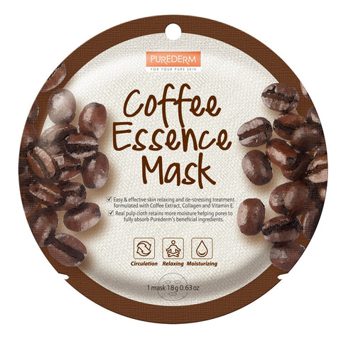 Purederm Essence Mask- Coffee