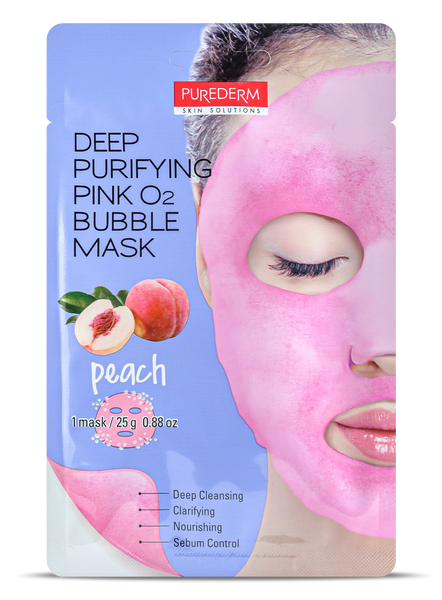 Deep Purifying Pink O2 Bubble mask- PEACH