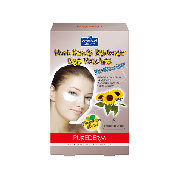 "Dark Circle Reducer Eye Patches""Sun flower"""