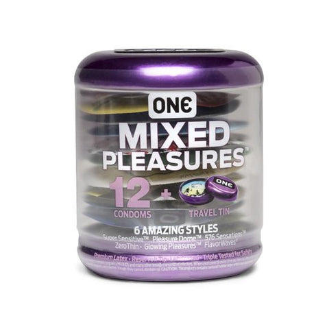 ONE Condoms Mixed Pleasures 12pk