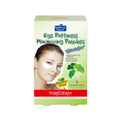 "Eye Puffiness Minimizing Patches""Ginko"""