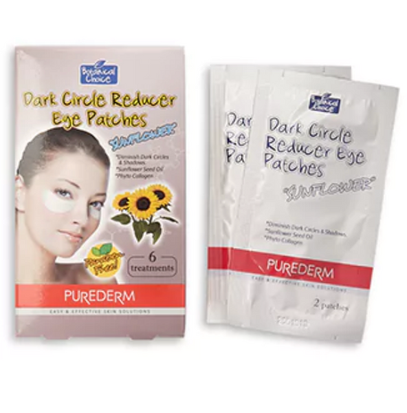 "Purederm Dark Circle Reducer Eye Patches""Sun flower seed oil"
