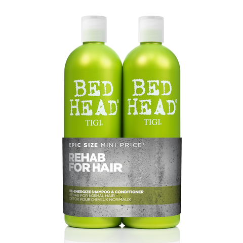 TIGI Bed Head Re-Energize Duo 750ml