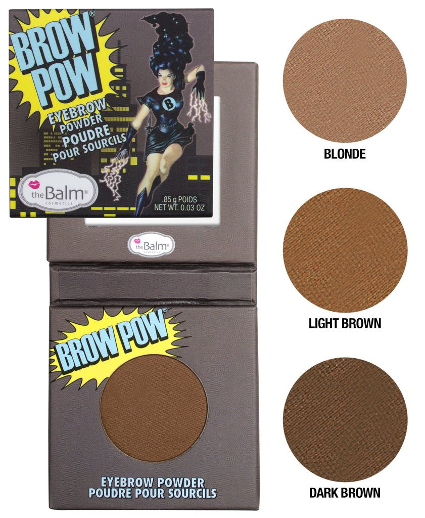 Thebalm Brow Pow Eyebrow Powder Blonde Loveby