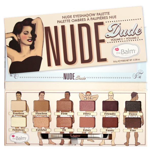 TheBalm Nude Dude Vol2 Eyeshadow Palette
