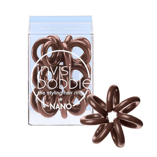 Invisibobble Nano Hair Ring - Pretzel  Brown
