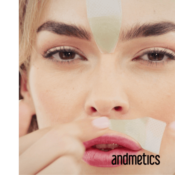 Andmetics Lip Wax Strips For Women