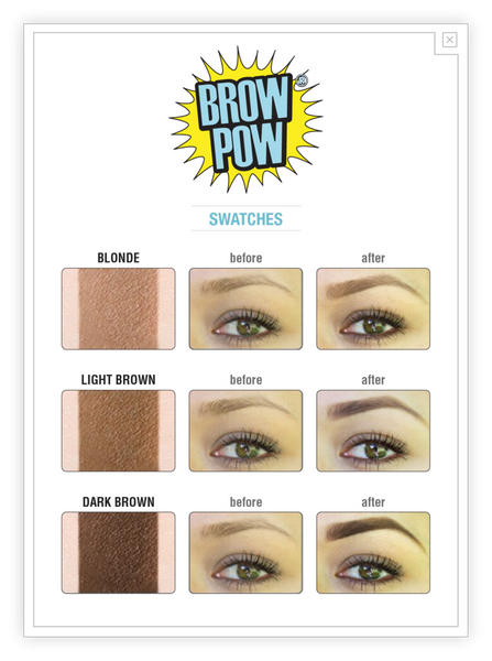TheBalm Brow Pow Eyebrow Powder Blonde