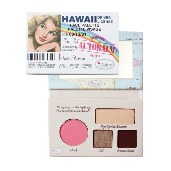 TheBalm Autobalm Hawaii Face Palette 4,15g