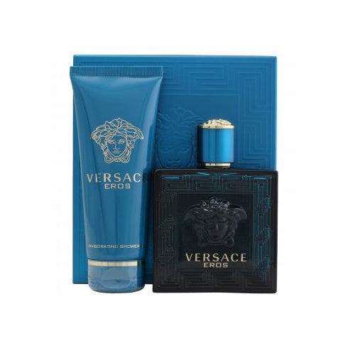 Versace Eros Set 100ml EDT + 100ml Shower Gel