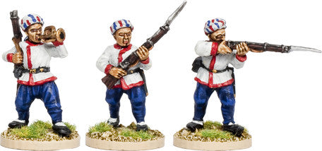 Franco Chinese Infantry