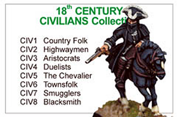 BCCIV001 - 18th Century Civilians Collection