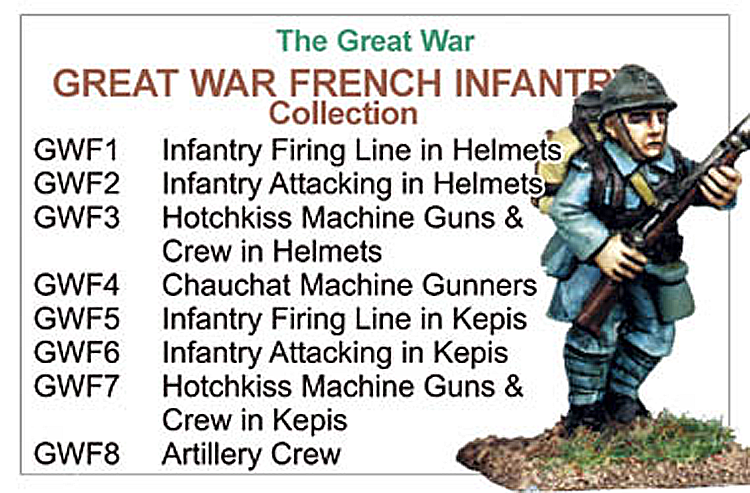 BCGW006 - Great War French Infantry Collection