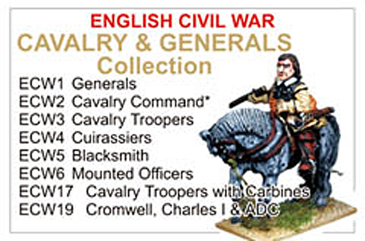 BCECW001 - English Civil War Cavalry And Generals Collection