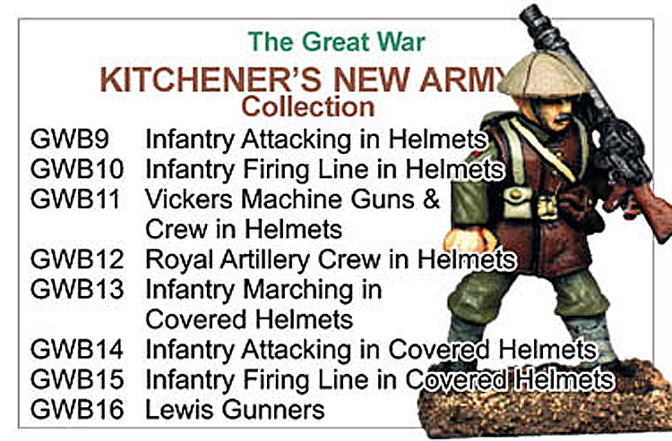 BCGW002 - Kitcheners New Army Collection