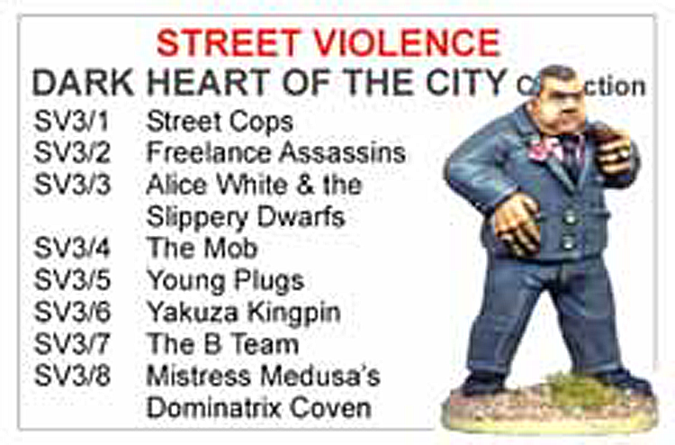 BCSV003 - Dark Heart Of The City Collection