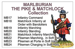 BCMB003 - Marlburian Pike And Matchlock Collection