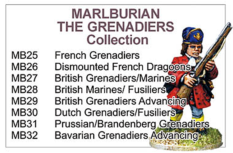 BCMB004 - Marlburian Grenadiers Collection