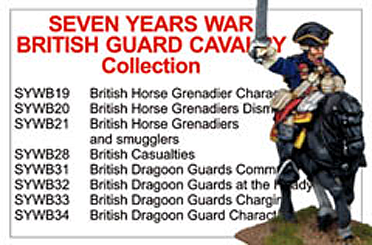 BCSYWB004 - Seven Years War British Guard Cavalry Collection