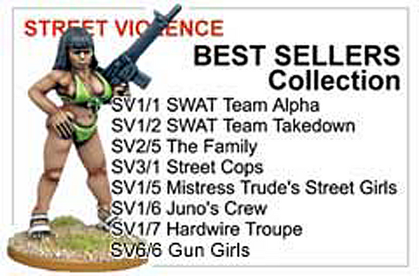 BCSV004 - Street Violence Best Sellers Collection