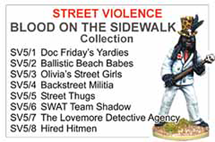 BCSV005 - Blood On The Side Walk Collection
