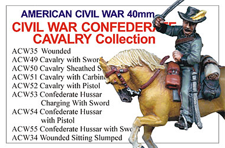 BCACW007 - Confederate Cavalry Collection