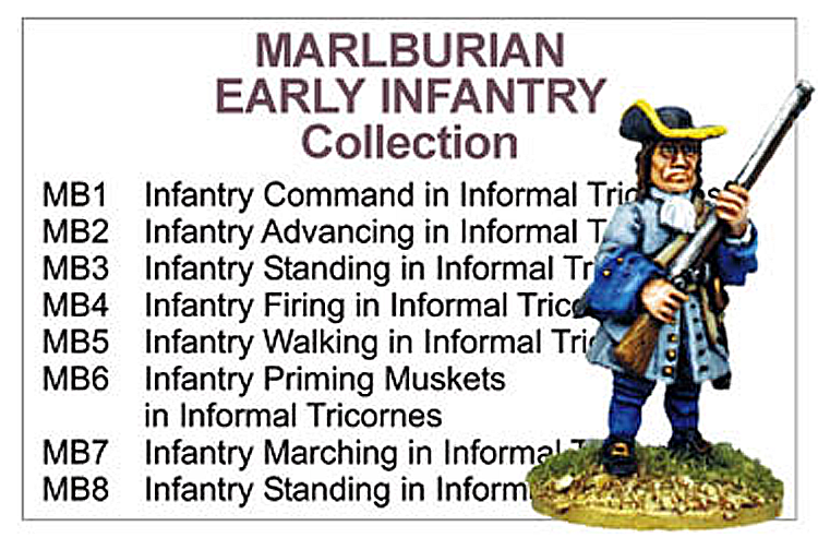 BCMB001 - Marlburian Early Infantry Collection