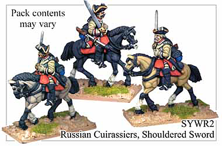 SYWR002 Russian Cuirassiers with Shouldered Swords