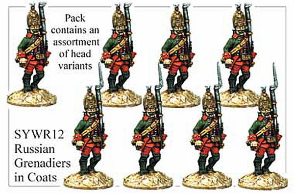 SYWR012 Russian Grenadiers in Coats