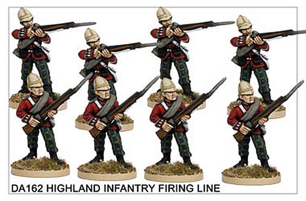 DA162 Highland Infantry Firing Line