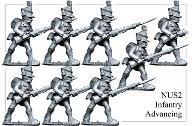 NUS002 Infantry Advancing