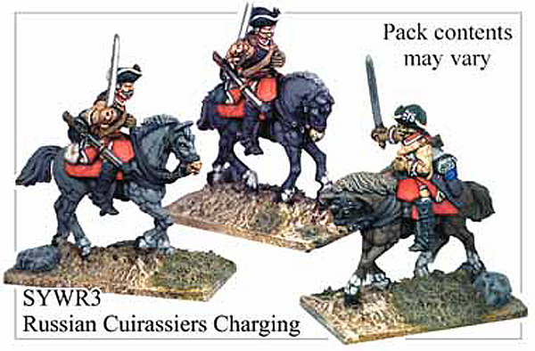 SYWR003 Russian Cuirassiers Charging