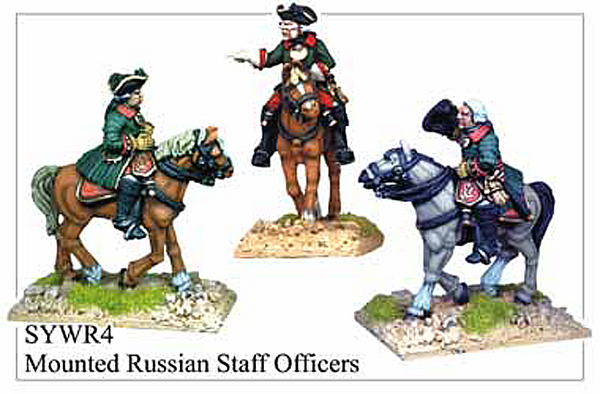 SYWR004 Mounted Russian Staff Officers