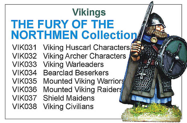 BCVIK003 - The Fury Of The Northmen Collection