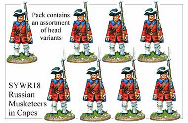 SYWR018 Russian Musketeers in Capes