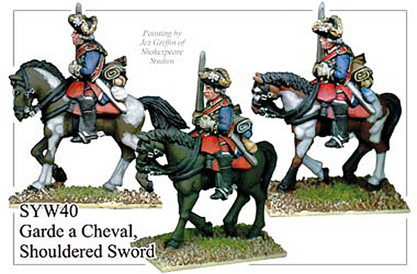 SYWR040 Russian Garde a Cheval with Shouldered Sword