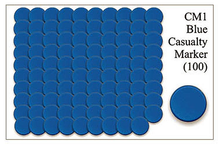 CM001 - Blue Casualty Markers
