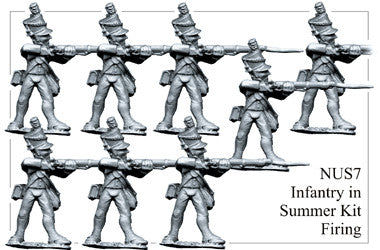 NUS007 Infantry in Summer Kit Firing
